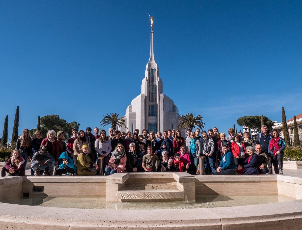 Romfahrt 2019 – Besuch des Tempels der Kirche Jesu Christi HLT