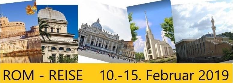 Multireligiöse Rom-Fahrt in den Semesterferien 2019