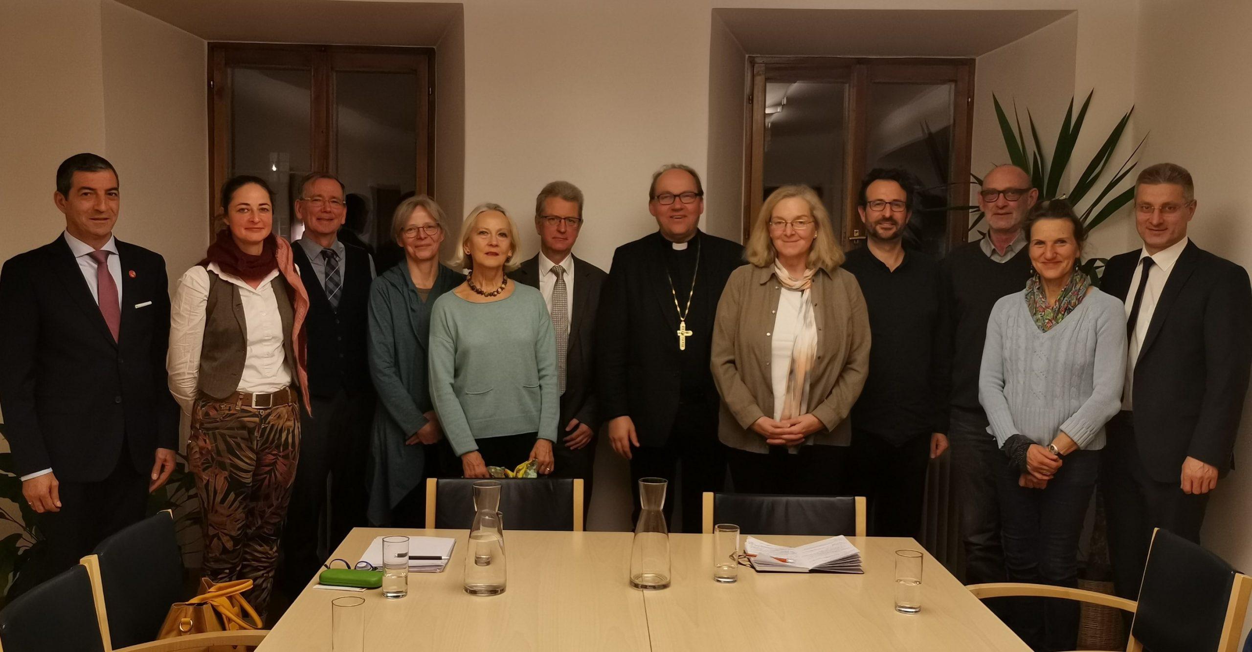 Arbeitssitzung mit Bischof Glettler 2020